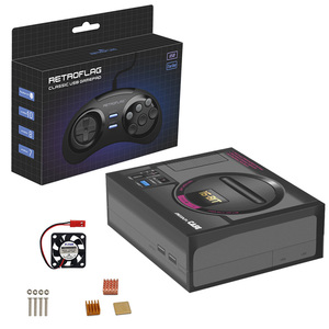 Image 4 - Retroflag MEGAPi กรณีวิดีโอเกมรองรับ HDMI TV Raspberry Pi TV Retro เกม 10000 + เกมสำหรับ GBA/CP ฯลฯ