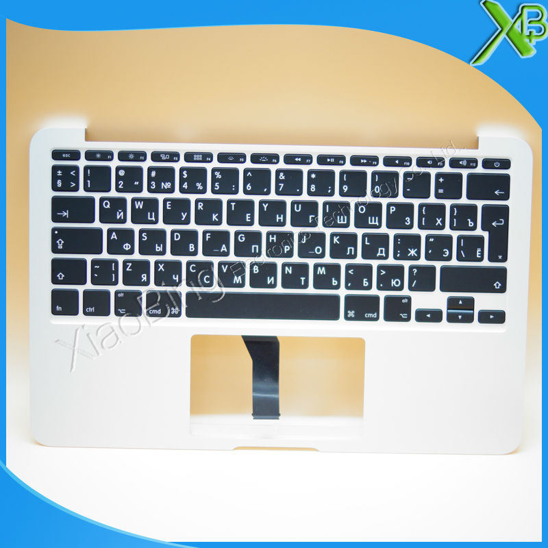 New TopCase with RU Russian Keyboard for MacBook Air 11.6 A1465 2013-2015 years new topcase with no norway norwegian keyboard for macbook air 11 6 a1465 2013 2015 years