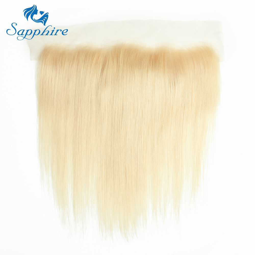 Safir 613 Blonde Bundles With Closure Peruvian Straight 2/3 Bundles - Barbershop - Foto 6