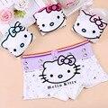 4 unids/pack baby girls underwear calzoncillos boxer ropa interior de algodón de los niños de dibujos animados para niñas niños cortos calzoncillos calzoncillos boxer