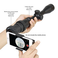 Universele Aluminium Anti Slip Clip Scope Telefoon Mount Adapter voor 40 45mm Oculair Spotting Scopes & telescoop