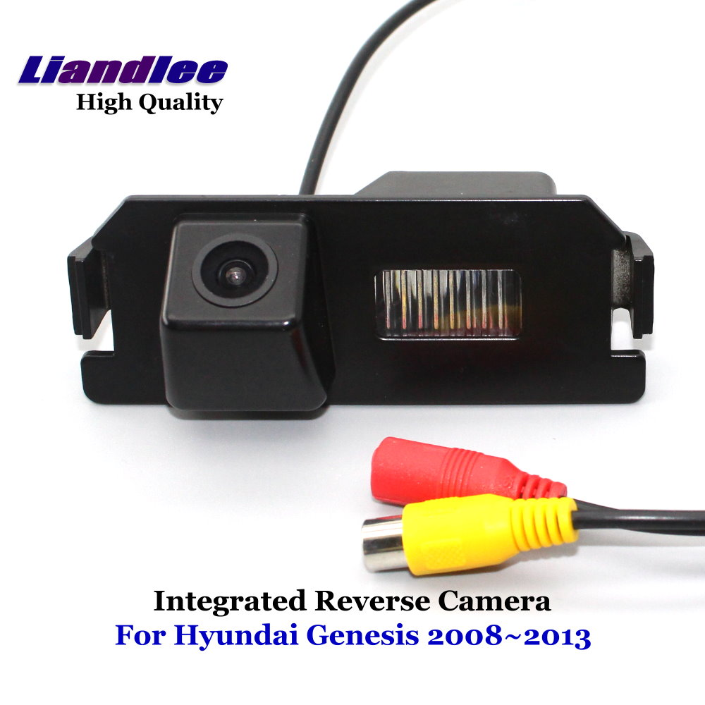 Liandlee For Hyundai Genesis 2008 2013 Car Rearview Reverse Camera Backup Parking Rear View Camera Integrated SONY CCD HD in Vehicle Camera from Automobiles Motorcycles