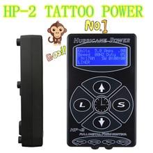 Professional Tattoo Power Supply Hurricane HP-2 Powe Supply Digital Dual LCD Display Tattoo Power Supply Machines Free Shipping