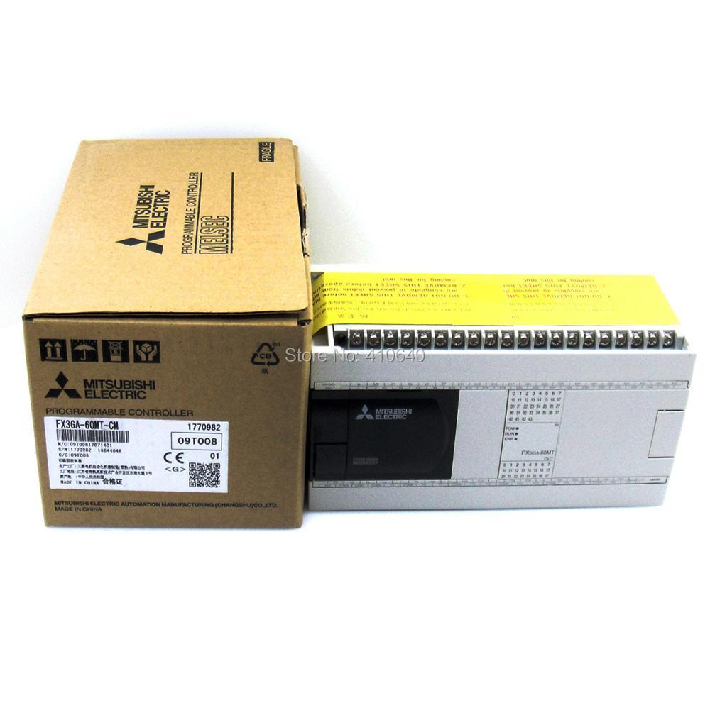 Programmable Controller FX3GA-60MT-CM PLC Module programmable controller fx3ga 60mt cm plc module