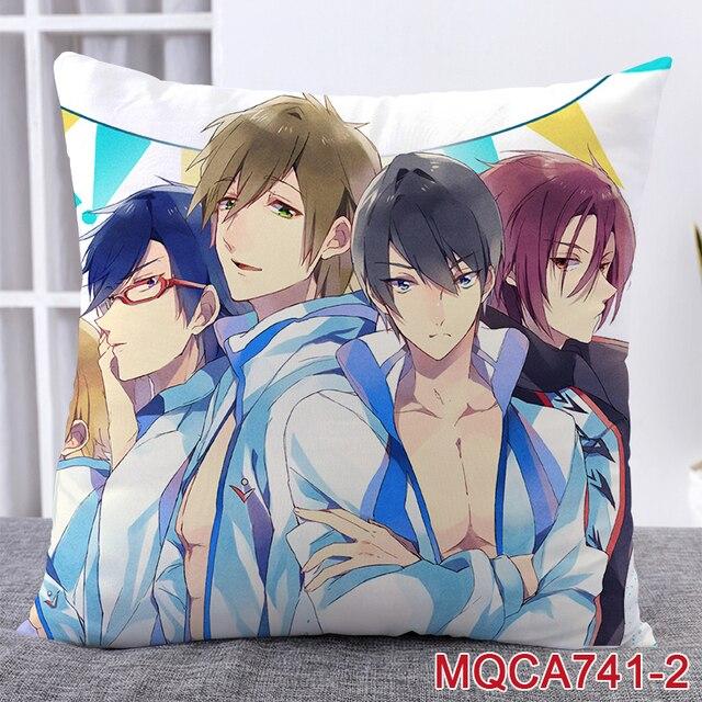 Аниме подушка двусторонняя Free! 4