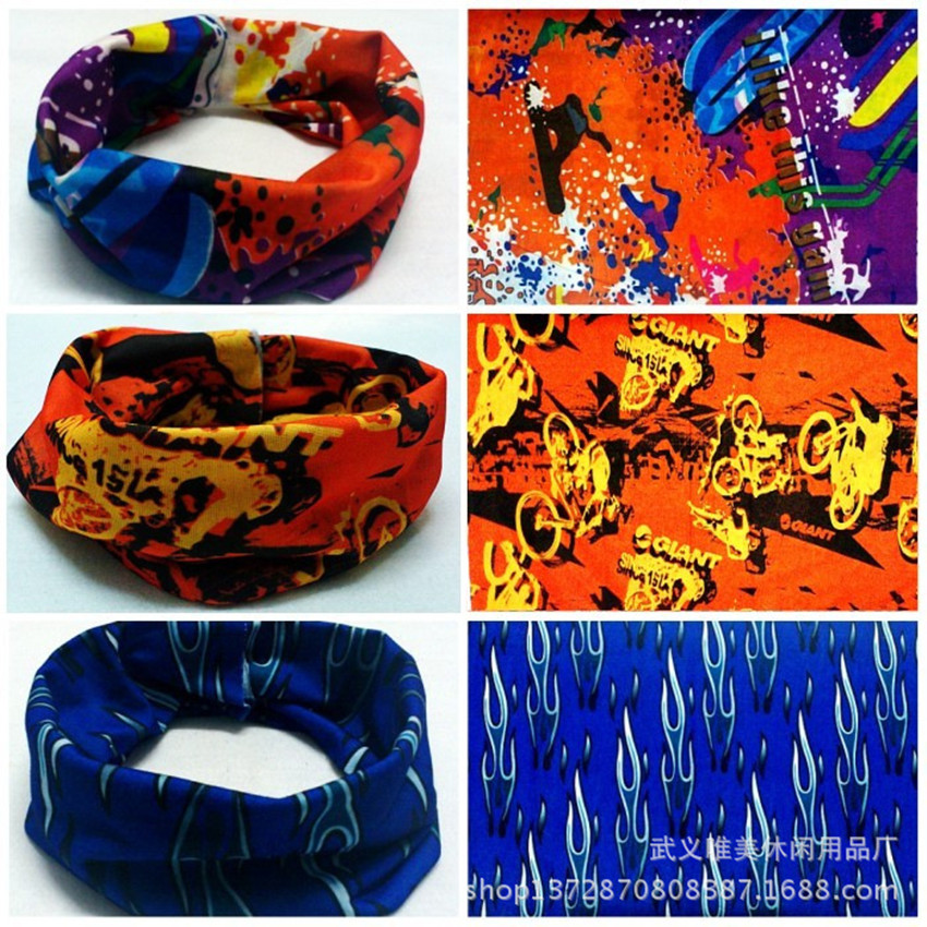 berbasikal skull mask bandana bike magic women men headband head Variety scarf women female set neckerchief kerchief neck scarves