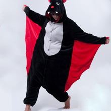 Кигуруми аниме летучая мышь пижама в виде костюм косплея взрослых животных Onesie пижамы вечерние пижамы