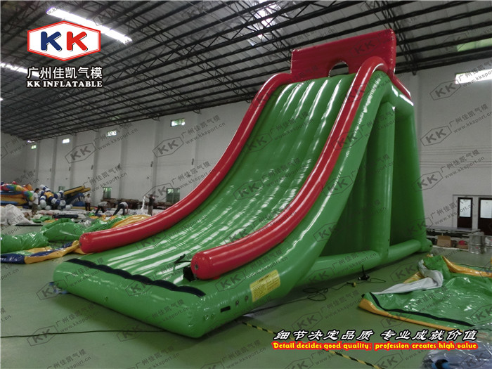 Commercial inflatable slide water beach giant inflatable floating water slideCommercial inflatable slide water beach giant inflatable floating water slide