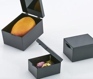 Image 1 - 10 ピース/ロット 6.4 × 4.7 × 3.7 センチメートル黒遮光ボックスライトプラスチックボックス標本箱スモールミニ収納ボックスビン