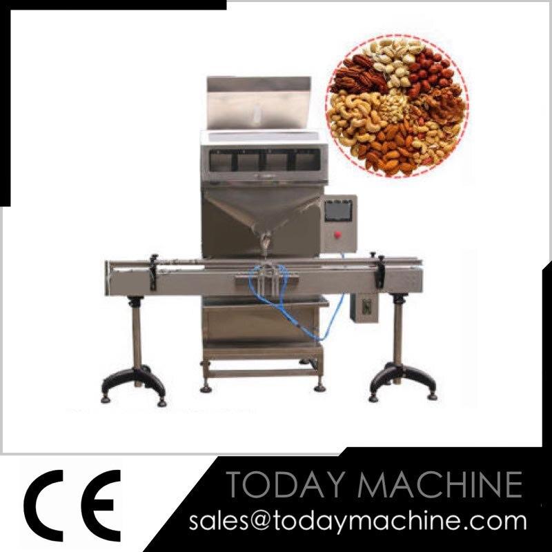 Máquina automática De Enchimento com Única Cabeça/Grão de Enchimento De Pó para o Frasco Pode Balde/Parafuso Transportador de Alimentação