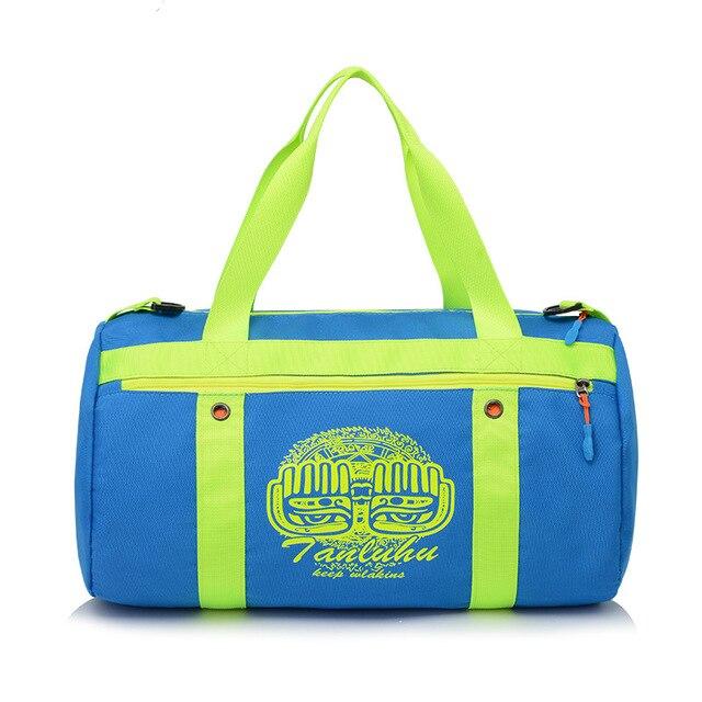 Tanluhu Outdoor Sports Training Gym Bag Sport Traveling Yoga Fitness Golf Duffle Bags Handbags For Women Men