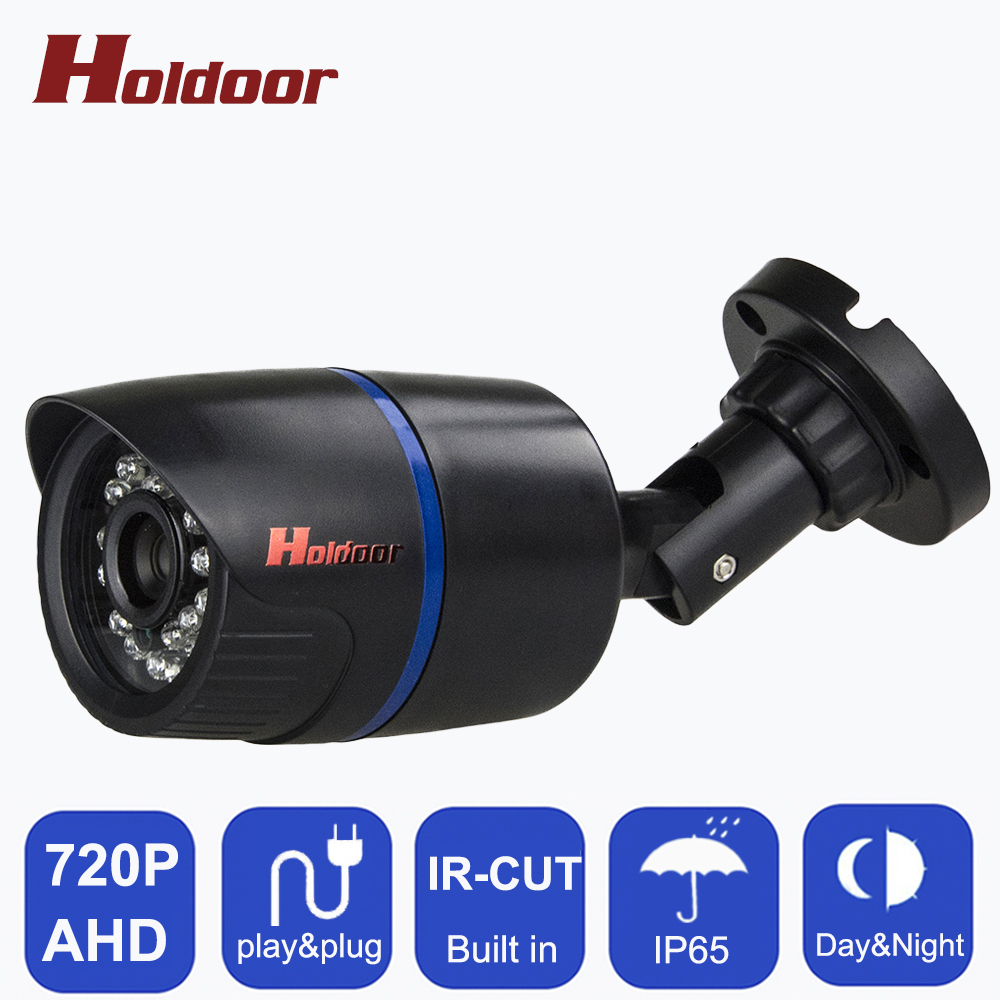 Home Security 720P AHD Camera Indoor Waterproof CCVT Camera Built in IR-CUT Filter 1.0mp Surveillance AHD Camera Plastic Shell smar home security 1000tvl surveillance camera 36 ir infrared leds with 3 6mm wide lens built in ir cut filter