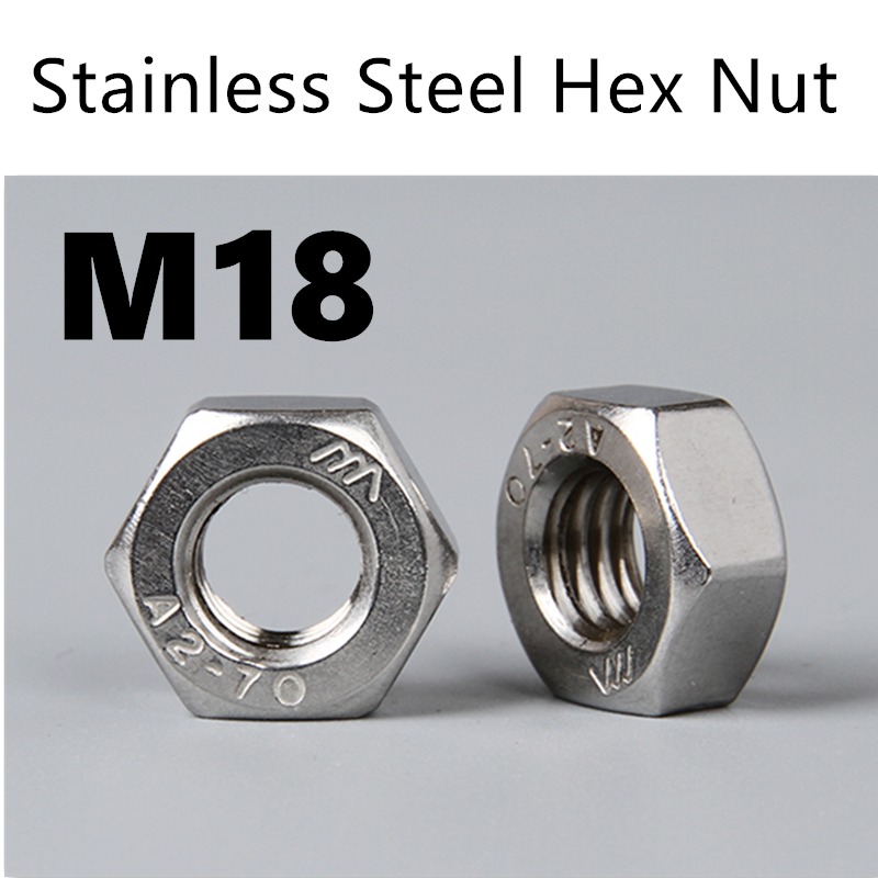 Nuts 500pcs//Lot Metric Thread DIN934 M2.5 304 Stainless Steel Hex Nut Hexagonal Nut Screw Nut A2-70