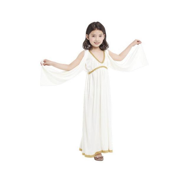 Free shipping 2016 Hot Sell New girls greek goddess Athena costume kids fancy dress costumes-in ...