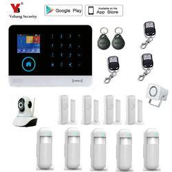 Yobang di Sicurezza Sistemi di Allarme di Sicurezza Senza Fili di GSM & WIFI Smart Home, Casa Intelligente Kit 8 lingue tra cui scegliere con Controllo APP