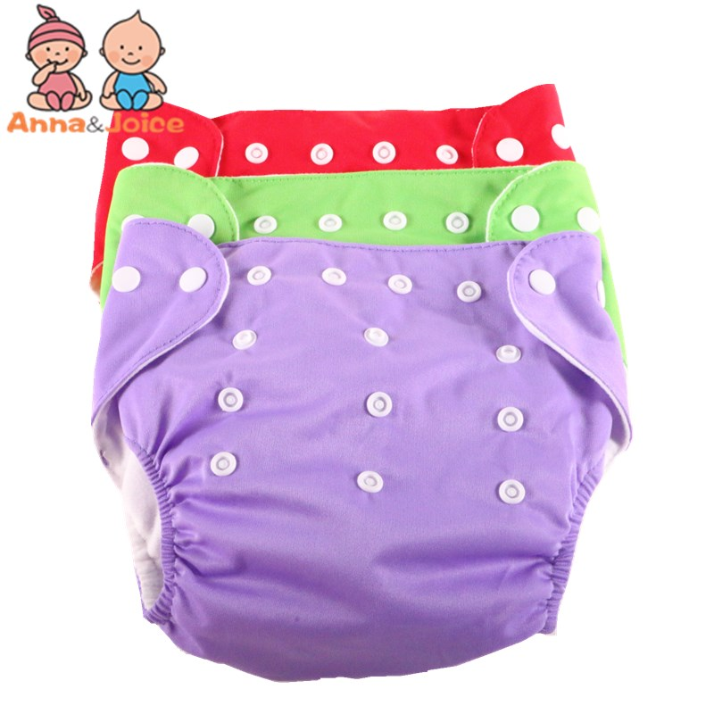 30pcs/lot  Summer Design Adjustable Diapers Baby Diaper Children's Underwear Reusable Nappies Pants Panties For Toilet Training(China)
