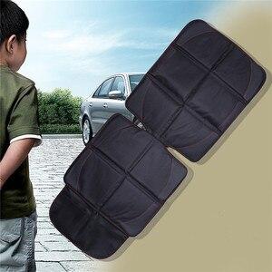 Image 3 - 123*48cm אוקספורד כותנה יוקרה עור רכב מושב מגן ילד תינוק אוטומטי מושב מגן מחצלת הגנה משופרת עבור מכונית מושב