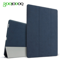 Magnetic Matte Leather Case For Apple Ipad Air 2 Ipad 6 Stand Smart Flip Cover For