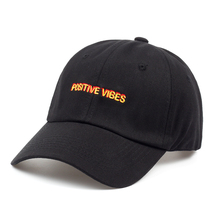 Positive Vibes cap for men women