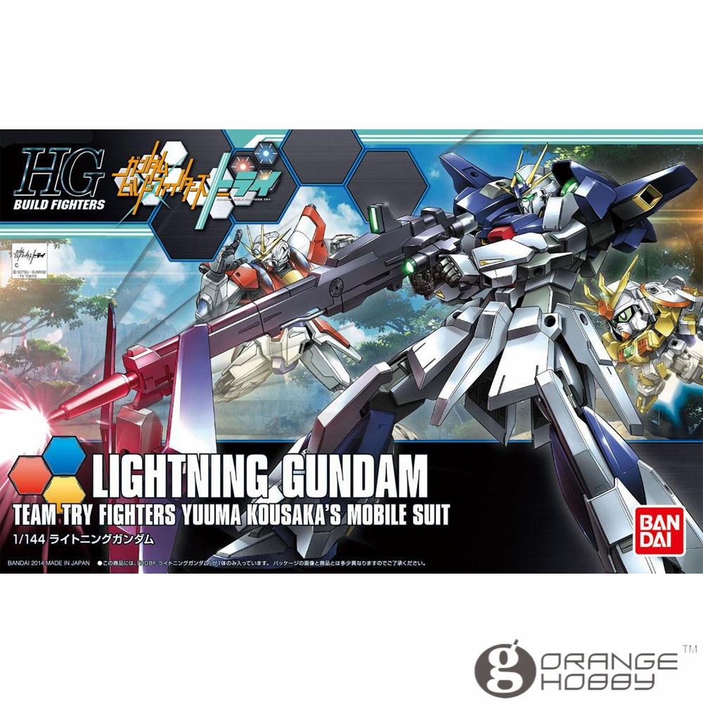 OHS Bandai HG construire des combattants 020 1/144 foudre Gundam ensemble de modèles de costume Mobile