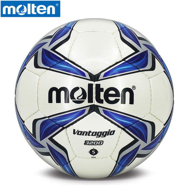 bb87216b4e placeholder Original F5V3200 Molten Tamanho 5 PU Bola Jogo Profissional  balon bola de futebol gol de futebol