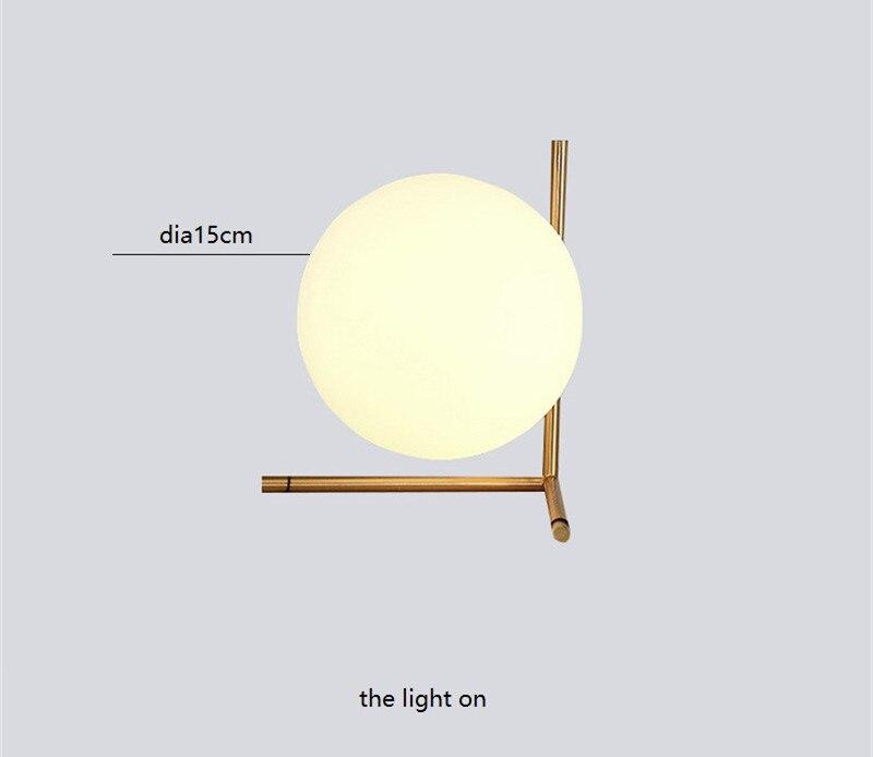 Desejo estrela moderno nordic bola de vidro