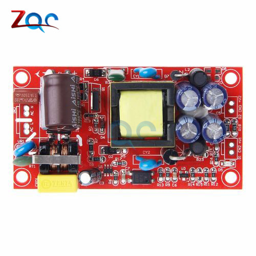 12V1A/5V1A fully isolated switching <font><b>power</b></font> <font><b>supply</b></font> module / 220V turn 12v <font><b>5v</b></font> dual output / AC-DC module 12V <font><b>1A</b></font> /<font><b>5V</b></font> <font><b>1A</b></font> image