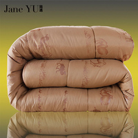 Max 4 7kg Winter Camel Hair Wool Quilt Luxury Thicken Stitching Comforter Duvet Blanket King Queen