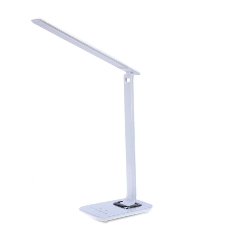 LED Desk Lamp Foldable Dimmable Rotatable Lights Eye Care Touch-Sensitive Light USB Charging Port Led Table Lamp aifeng led desk lamp foldable dimmable 5w 370lm desk table light usb charging touch night light eye care book reading desk lamps