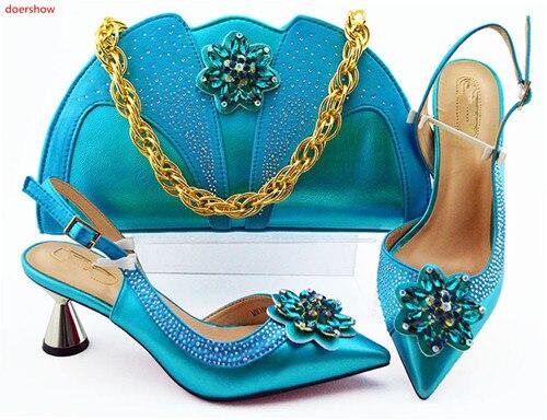 450eabef2c83aa Et De Sacs Mariage Chaussures Doershow Sac Main Italien Africain FemmesHln1  36 À Chaussure Italie D'été Assorties Ensemble yOPv08nmwN