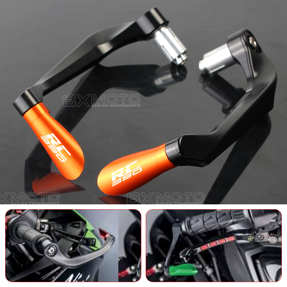 Universal 7/8 22mm Brake Clutch Levers Protector Brush Motorcycle Proguard System Guard For Ktm Duke 125 200 390 RC 390 duke bjmoto cnc aluminum blade adjustable brake clutch levers set for ktm duke 390 2013 2018 duke 200 125 rc 125 200 390 2014 2018