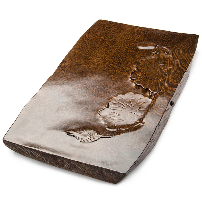 High-grade household kung fu tea tray tablets carved a substituting tea tableHigh-grade household kung fu tea tray tablets carved a substituting tea table