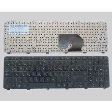 Russian Keyboard for HP Pavilion DV7-6100 DV7-6000 DV7-6200  634016-251 639396-251 RU Black with frame