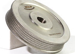 Multi groove Electroplated diamond CBN profile grinding wheel