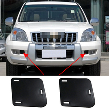 Car accessories For Toyota Land Cruiser Prado LC120 FJ120 2003-2009 Front bumper fog lights Side Baffle Cover