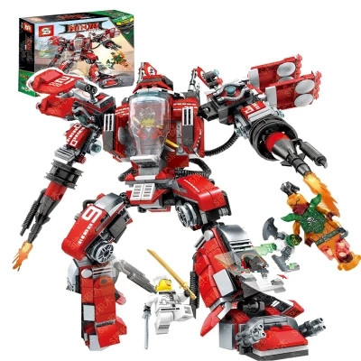 737pcs Movie Series Flying mecha dragon Building Blocks Bricks Toys Children Model Gifts Compatible With LegoINGly NinjagoINGly
