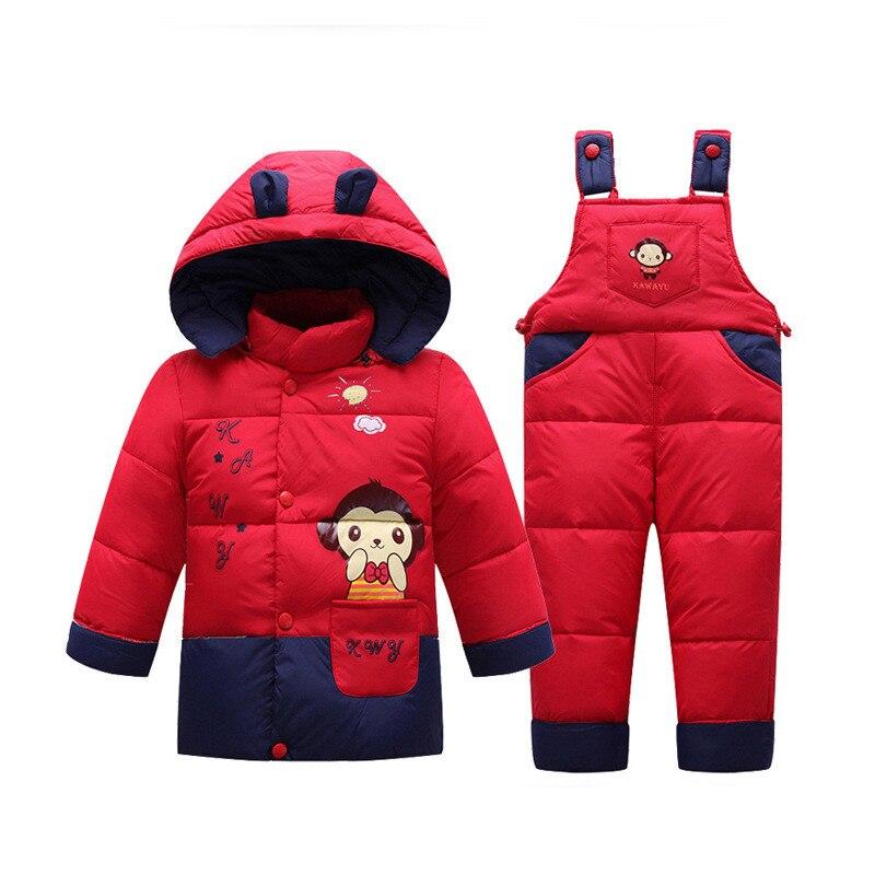 2017-New-Winter-Children-Duck-Down-Jacket-Set-Pants-Jacket-Clothing-Girls-Baby-Coat-Jacket-2
