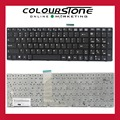 For MSI A6200 CR620 CX705 S6000 CR61 MS-1681 MS-1736 CX705 MS16GB MS16GA GE60 CX70 CX61 US Black keyboard with frame