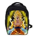 13 Inch Kids Backpack Dragon Ball Z Backpack Sun Goku Children School Bags Boys Girls Daily Backpacks Students Bag Mochila Gift