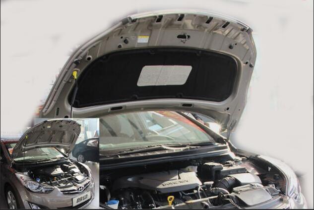 Raccord gratuit pour voiture hyundai verna celesta elantra avec capot moteur en coton sensible au bruit