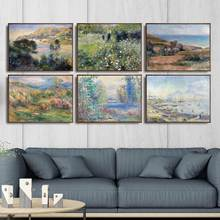 Casa Decoração Wall Art Pictures Fro Sala Poster Pinturas Da Lona de Impressão Francês Pierre-Auguste Renoir 3