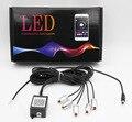 6 Meter RGB Fiber Optic Atmosphere Lamps Remote Control / App ControlCar Interior Light Ambient Light Decorative Dashboard Door