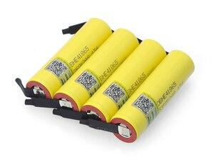 Image 5 - Liitokala Lii HE4 2500mAh Li lon Batterie 18650 3,7 V Power akkus Max 20A entladung + DIY Nickel blatt
