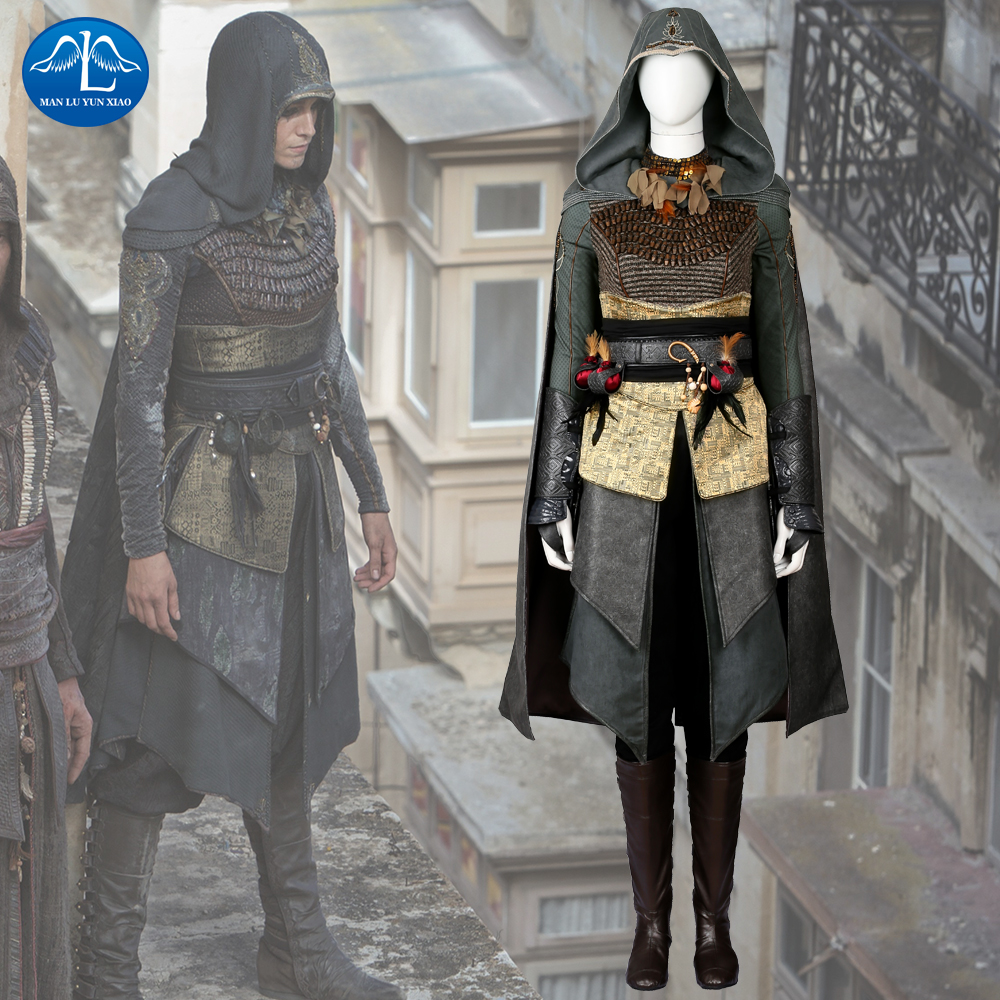 manluyunxiao assassins creed costume sofia sartor costume deluxe outfit halloween cosplay. Black Bedroom Furniture Sets. Home Design Ideas
