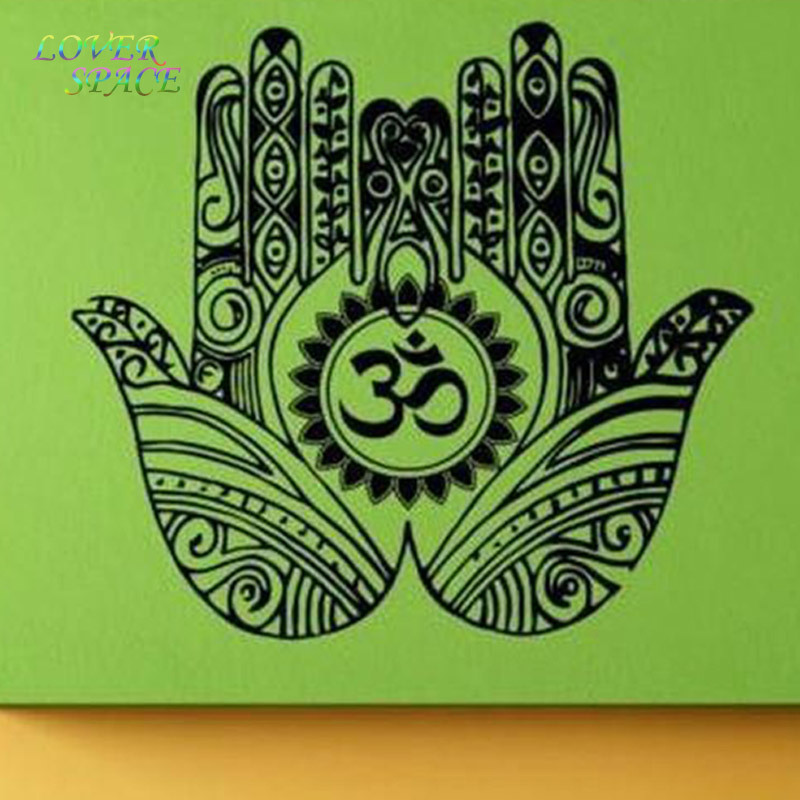 On sale yoga wall room decor art vinyl wall stickers mural for Room decoration items sale