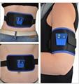 ABGymnic AB Gymnic Electronic Body Muscle Massager Arm Leg Waist Abdominal Massage Lose Weight Exercise Toning Belt Slim Fit