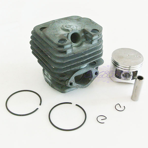 Engine Motor Piston Kit 45mm Bore For Chinese 5200 52cc Chainsaw Kiam Silverline
