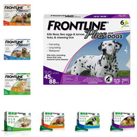 Frontline Plus for Dogs & Cats Flea and Tick Treatment 3pcs/6pcs