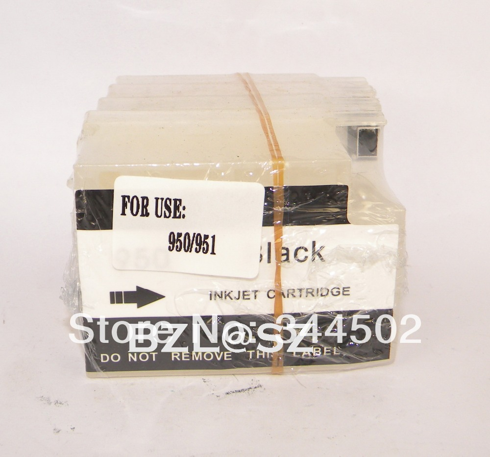 Cartouches rechargeables vides d'imprimante pour HP 8100 8600 251dw 276dw 8610 8620 8625 8630 pour l'encre 950/951 avec la puce de réinitialisation automatique