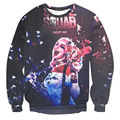 Harley Quinn Suicide Squad hoodies Batman Movie Joker Arkham Game Cosplay Costumes sweatshirt For Women and men